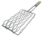BBQ Mielie Grid 280mm X 150mm Chrome with Handle