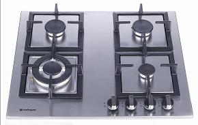 HOB604A-MCCI  SAFEGAS 4 BURNER STAINLESS STEEL