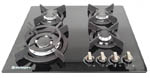 HOB640G - Safegas 4 Burner Glass Hob