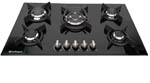HOB950G- Safegas 5 Burner Glass Hob