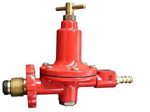 Safegas Red High Pressure Regulator