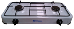 Safegas 2 Burner Enamel Hotplate