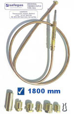 Safegas Universal Thermocouple 1800mm