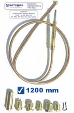 Safegas Universal Thermocouple 1200mm