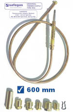 Safegas Universal Thermocouple 600mm